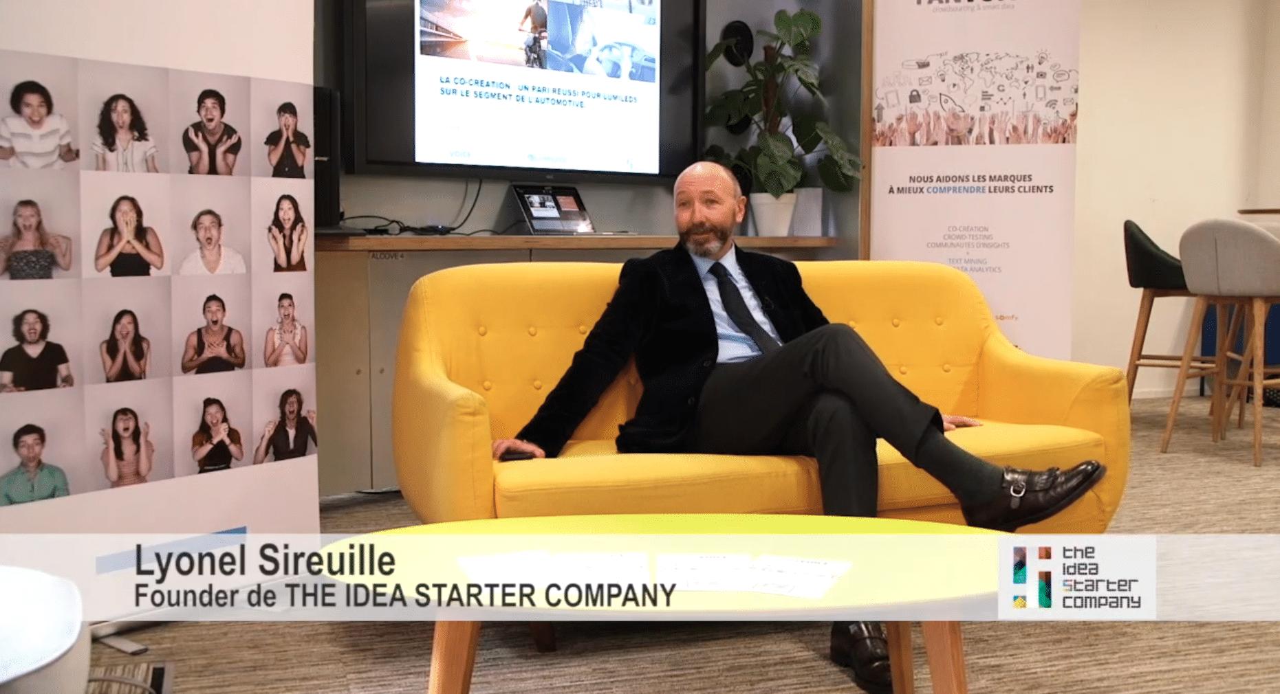 Lyonel Sireuille en interview sur la co-création